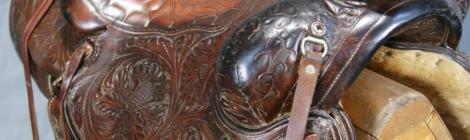 How is a western saddle made?
