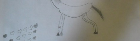 My first equestrian drawing