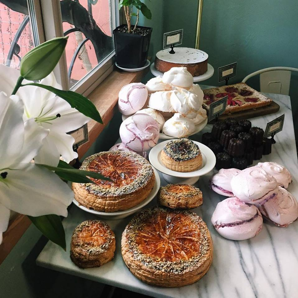 Equiano Coffee Company hosts pastry pop-ups from local chefs and artisan bakers at their coffee tasting room, located at 300 Blair Blvd, in Eugene, Oregon.