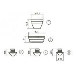 Consommable pour machine de découpe laser TRUMPF CO2 et