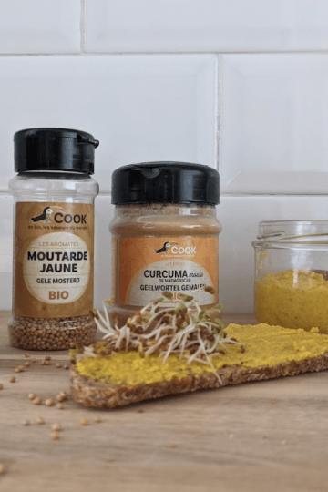 Moutarde maison lactofermentée