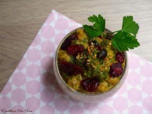 Curry de pois chiches à la crème de coco