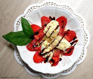Carpaccio de fraises