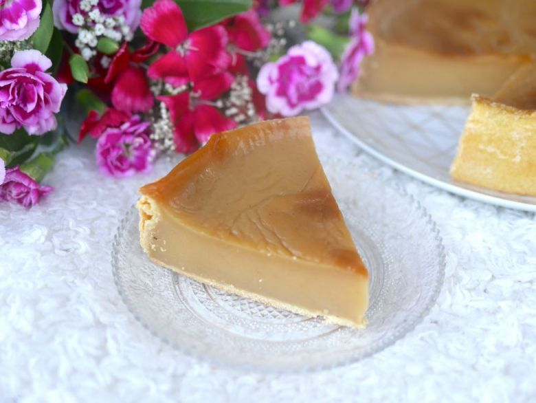 Flan pâtissier à la vanille vegan et sans gluten ! Léger, onctueux et savoureux ;-)
