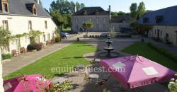 Normandy – Cotentin area – equestrian domain and luxury hotel