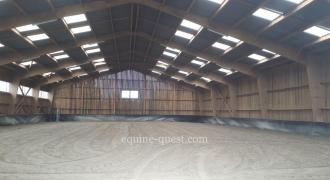 Normandie – Région centre Manche – Propriété équestre pour chevaux de sport