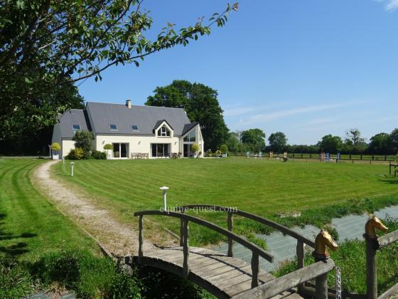 Normandie – Région saint Lo – Propriété équestre