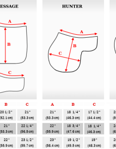 Size chart also hunter saddle pads white pad with fleece trim rh equinelux