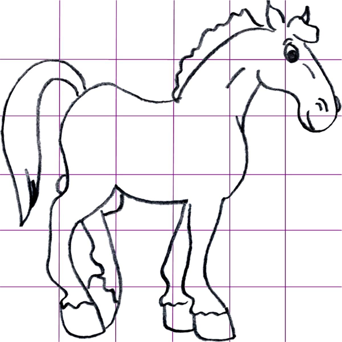 Draw Cartoon Horses