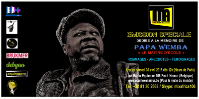 Mix Africa : Hommage au gardien du temple de la Rumba congolaise