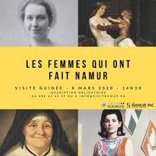 Le Bon sens : Les femmes qui ont fait Namur REDIF (Richart Dessart)