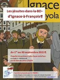 A la page :  Les jésuites dans la BD, d'Ignace à François