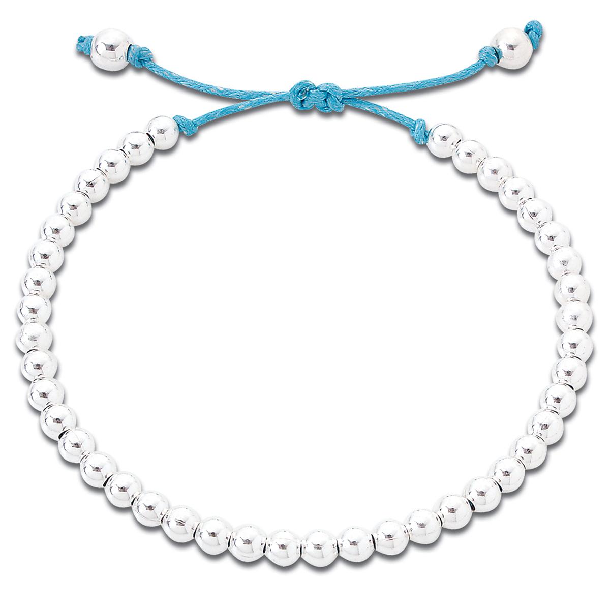 Silver Friendship Bracelet Handmade In Sterling Silver