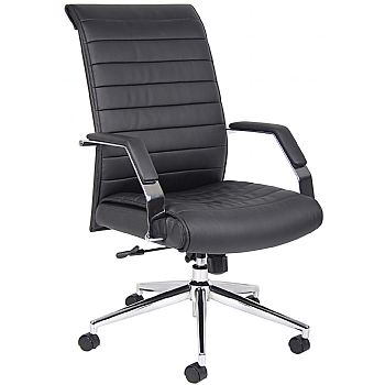 Identity High Back Leather Manager Chair  Cheap Identity