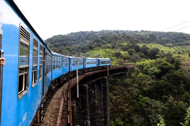 Tren de Candy, Sri Lanka