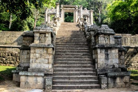 Yapahua Rock Fortress, Sri Lanka