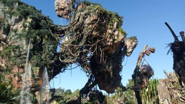 Montañas flotantes de Pandora. Disney Animal Kingdom