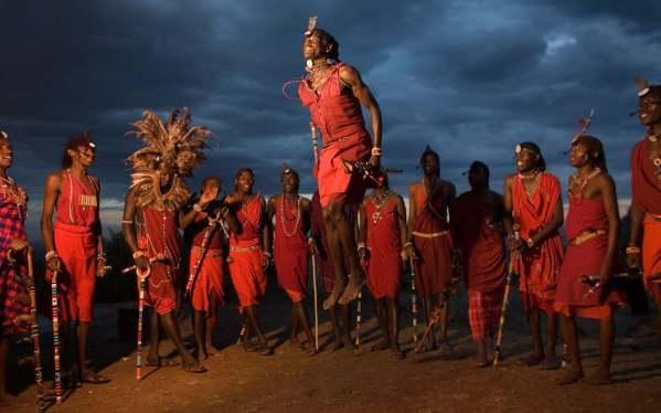 Ceremonia masai