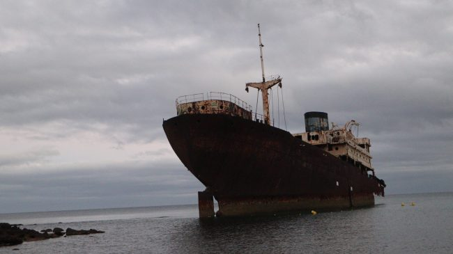 Barco Telamón. Lanzarote