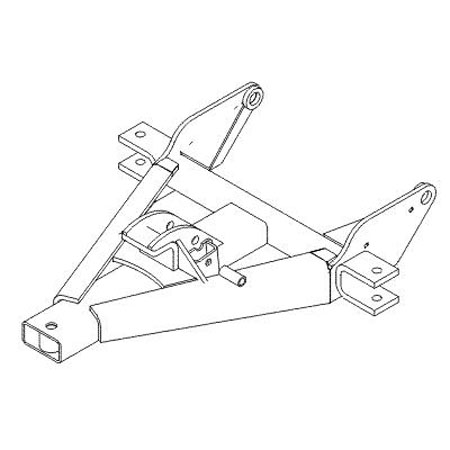 Snowplow Truck Mounts, Frames, Stands at the EquipAll Store