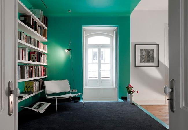 Oficinas creativas Paredes con color para dar