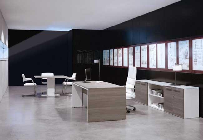 Ambientes ejecutivos en la oficina  EQIN Estudio
