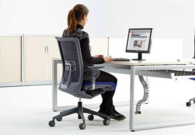 Sillas de oficina ergonmicas Ventajas y modelos  EQIN