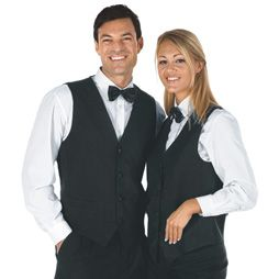 Chalecos de camarero chalecos de hosteler a y personal de - Ropa de hosteleria barcelona ...