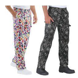 Ropa de cocinero uniformes de cocina compra online ropa de cocina - Pantalones de cocina ...
