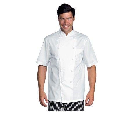 casaca chef color blanco cocinero