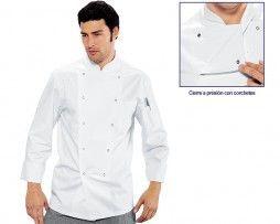 chaqueta-cocina-blanca-hombre-corchetes