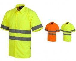 camisa-alta-visibilidad-workteam-c3810