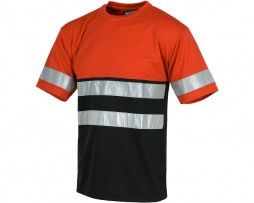 camiseta-trabajo-reflectante-gris-workteam-c3940-