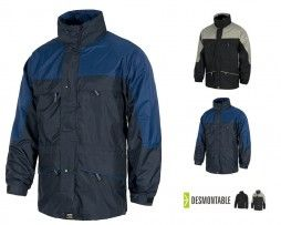 Parka Impermeable Forro Polar Desmontable s1100