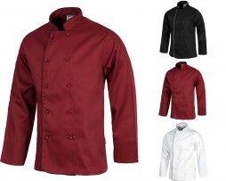 casaca-cocina-botones-workteam-b9206