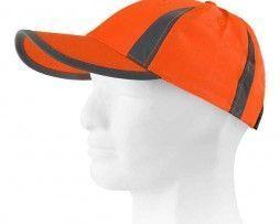 gorra alta visibilidad naranja