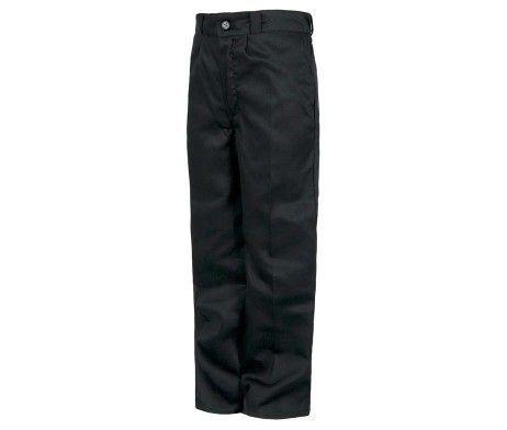 pantalón niño y niña infantil uso laboral negro