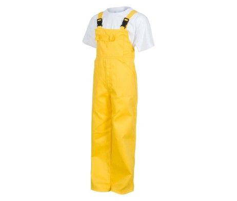 peto laboral color amarillo para niños