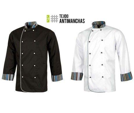 chaqueta chef antimanchas