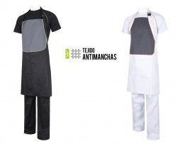 Delantal peto antimanchas restaurantes