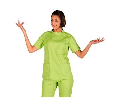 casaca enfermera mujer verde