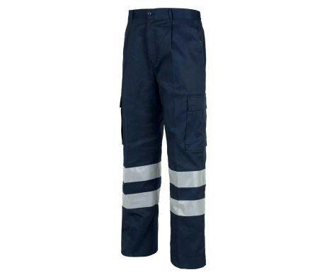 pantalón reflectante azul marino