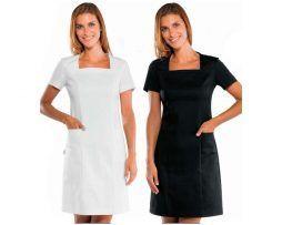 vestido-pichi-mujer-servicios-domesticos-limpieza-ajustado-blanco-negro