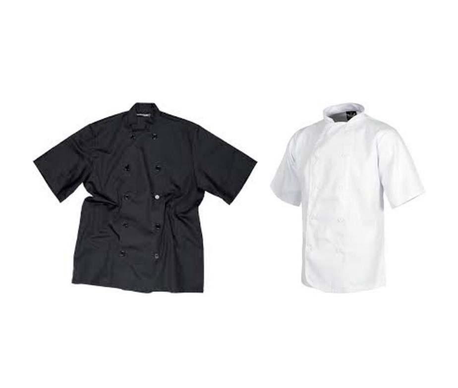 casaca de cocina econ mica de manga corta casaca cocinero
