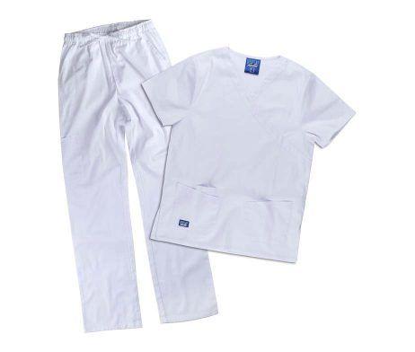 conjunto pijama sanitario muy cómodo elástico