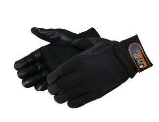 0815BK Cougar Leather Palm Patch Mechanic Glove, Pair