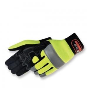 0915HY/RT NeoKnight Hi-Viz Yellow Mechanics Glove, Pair