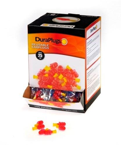 14270 Duraplug® Reusable Earsplug Uncorded, 100ct
