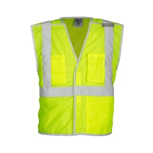 ML Kishigo 1505B Premium Brilliant Series Lime Breakaway Vest