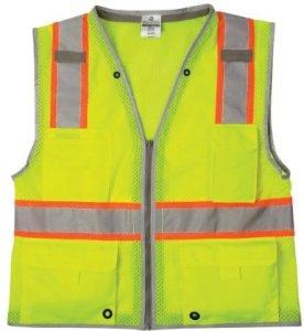 1510 ML Kishigo - Brilliant Series Lime Class 2 Heavy Duty Safety Vest